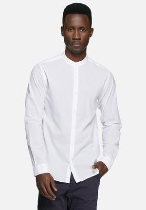 Jack & Jones Premium Branson Slim Shirt White