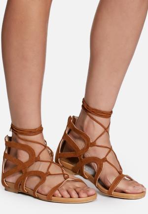 Zoom Maria Sandals & Flip Flops Tan