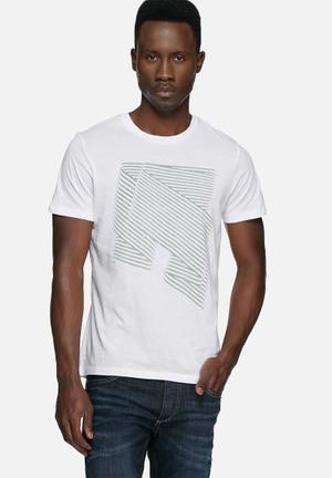 ADPT. Cand Tee T-Shirts & Vests White