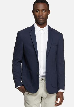 Jack & Jones Premium Kendrick Slim Blazer Jackets & Coats Navy
