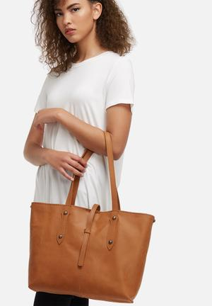 Rozel leather tote