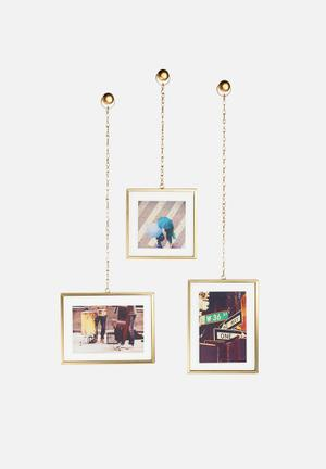 Umbra Fotochain Display Accessories Metal, Brass