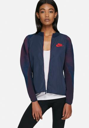 Nike Nike Dynamic Reveal Jacket Navy / Red