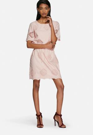 Vero Moda Piro Dress Casual Blush Pink