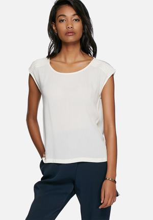Vero Moda Linas Top Blouses White