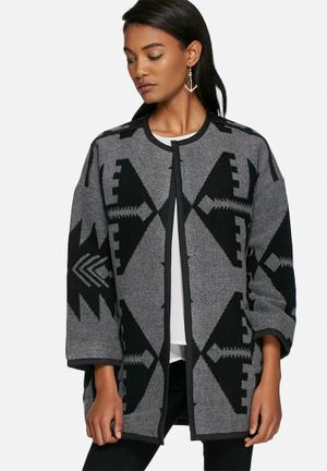 Vero Moda Azina Jacket Grey & Black