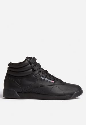 Reebok Freestyle Hi Sneakers Black