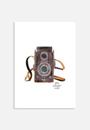 Gina Maher Viewfinder Camera Art
