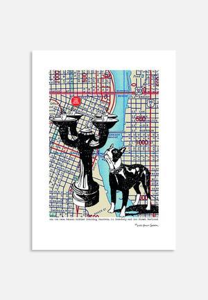 Lyn Nannce-Sasser And Stephen Sasser Benson Bubbler Drinking Fountain - Portland Art