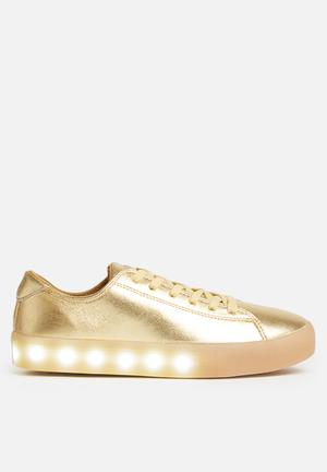 My Pop Shoes Low Pop Sneakers Gold