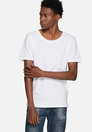 Only & Sons Envy Tee T-Shirts & Vests White