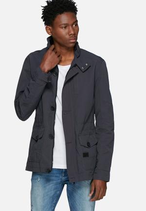 Crosshatch Douro Jacket Grey