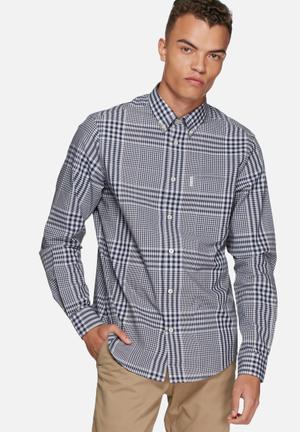 Ben Sherman Gingham Shirt Navy