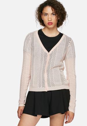 Vero Moda Sophie Cardigan Knitwear Peach