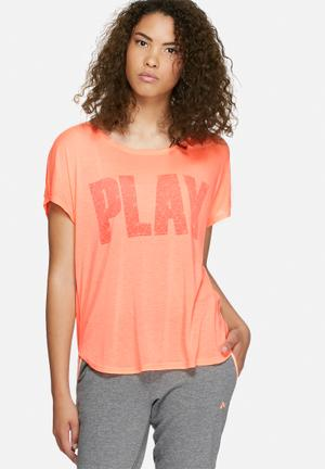 ONLY Play Jina Tee T-Shirts Coral
