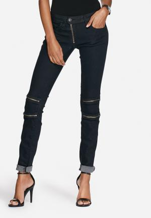 G-Star RAW Lynn Custom Skinny Jeans Dark Blue