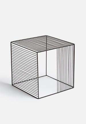 Sixth Floor Grid Table Powder Coated Metal