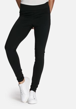 Dailyfriday Hi-waisted Leggings Trousers Black