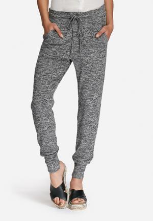 Vero Moda Lennie Pants Trousers Light Grey Melange