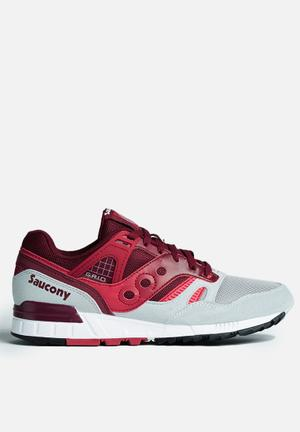 Saucony Grid SD Sneakers Red / Grey