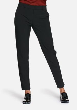 Vero Moda Dama Ankle Pants Trousers Black