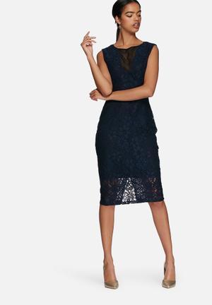 Vero Moda Lena Dress Occasion Navy / Black