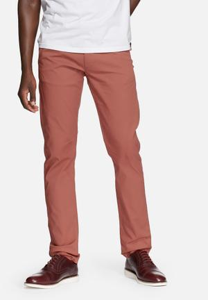 Selected Homme Yard Slim Chinos Tandori Spice