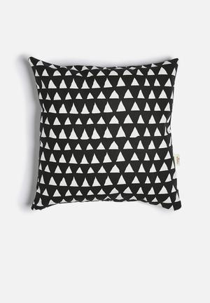 Love Milo Triangle Cushion Cover 100% Cotton Made In South Africa