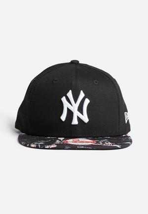 New Era 9 Fifty NY Yankees Headwear Black / Multi