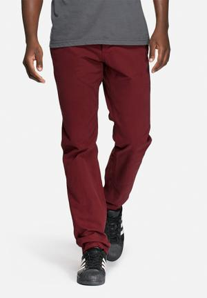Only & Sons Sharp Regular Chino Red