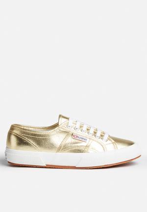 SUPERGA 2750 Cotmetu Sneakers Gold