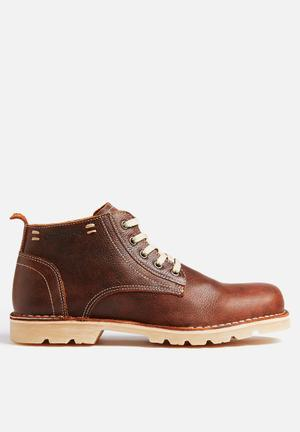 Grasshoppers Urban Boots Brown