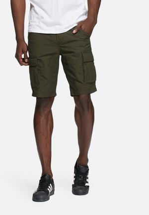 PRODUKT Seven Cargo Shorts Green