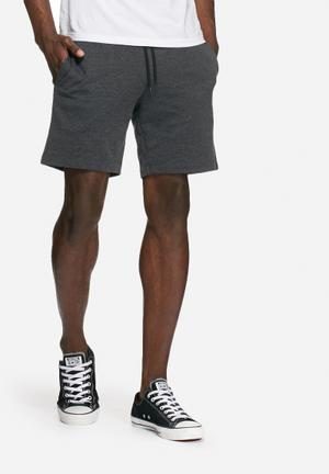 PRODUKT Basic Sweat Shorts Charcoal