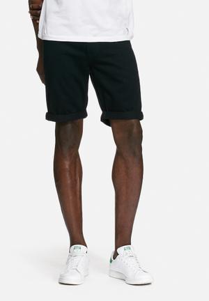 PRODUKT Denim Shorts Black