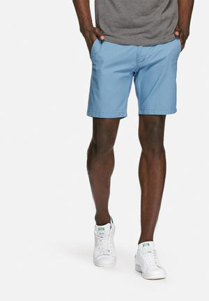 Selected Homme Lewis Chino Shorts Blue