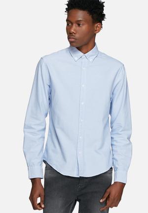 Only & Sons Sebastian Slim Shirt Blue