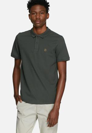 Selected Homme Daro Polo T-Shirts & Vests Green