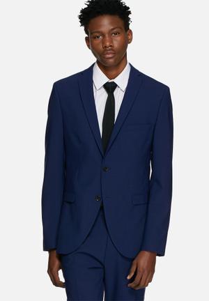 Selected Homme Don Slim Blazer Jackets & Coats Blue