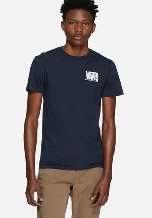 Vans 50th Reissue Tee T-Shirts & Vests Navy Blue