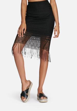 Vero Moda Febe Skirt Black