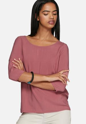 ONLY Geggo Top Blouses Pink