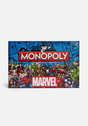 Hasbro Monopoly - Marvel Universe Games & Puzzles
