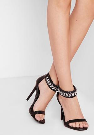 Chained Heeled Sandal
