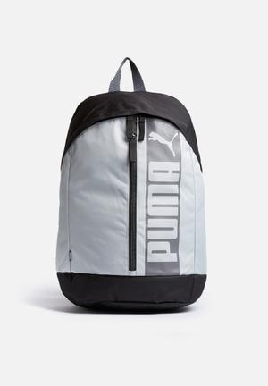 PUMA Pioneer II Bags & Wallets Charcoal / Mint