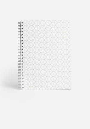 MatchBOX Lined Notebook A4 Gifting & Stationery Recycled Fibreboard & Paper