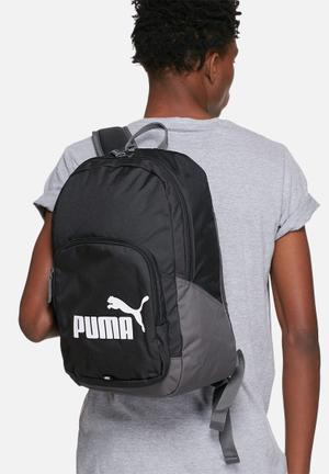 PUMA Phase Backpack Bags & Wallets Black
