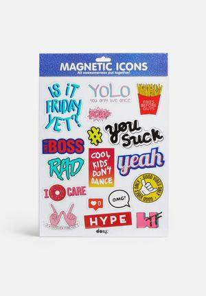DOIY Magnetic Icons Gifting & Stationery Magnet