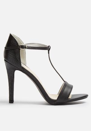 Footwork Virginia Heels Black
