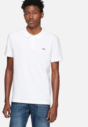 Levi's® Levi's Housemark Polo T-Shirts & Vests White